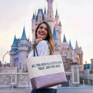 Kate Spade Disney Canvas Tote